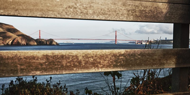 Golden Gate Bridge from Point Bonita Lighthouse