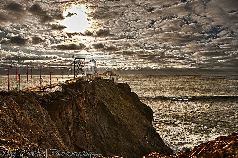 Point Bonita Lighthouse In HDR