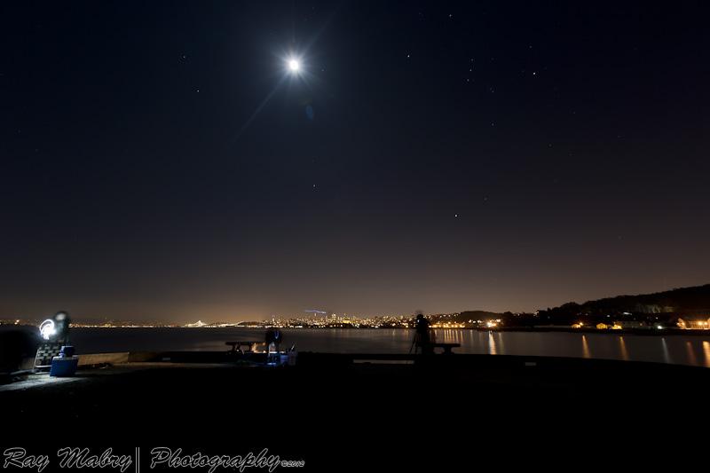 San Francisco At Night - photograph by Ray Mabry Photography